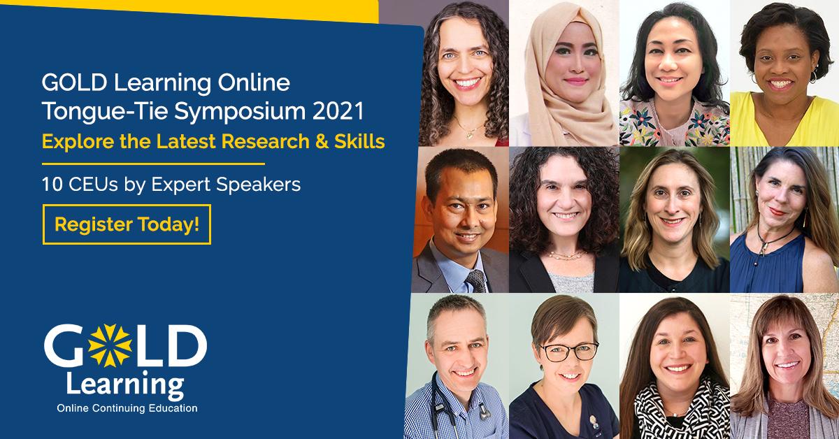 Tongue-Tie Online Symposium 2021 Speakers