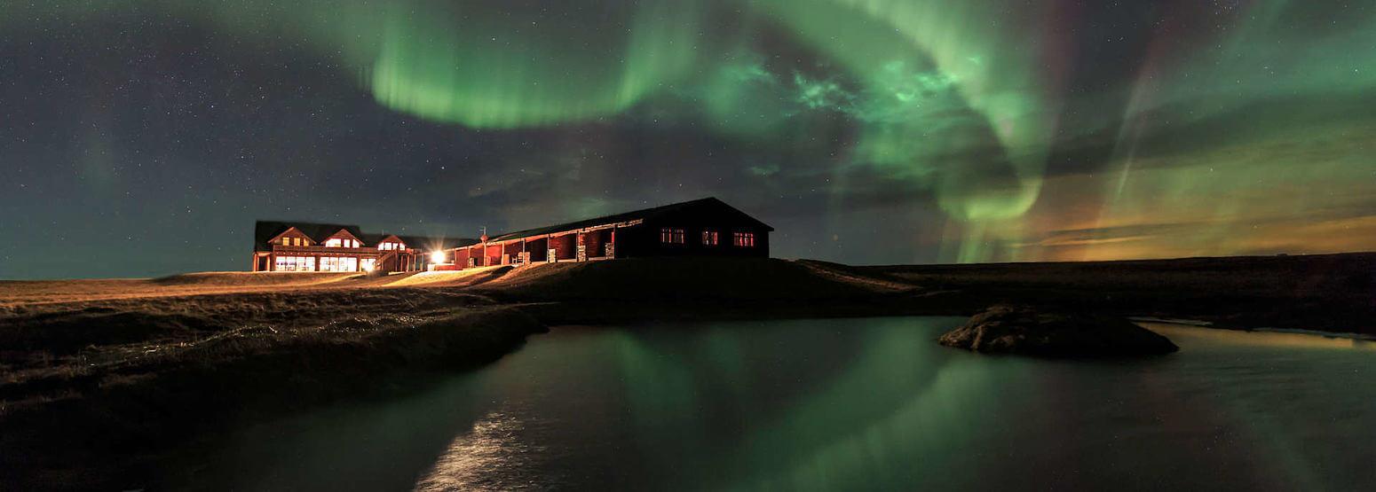 hotel ranga, northern lights