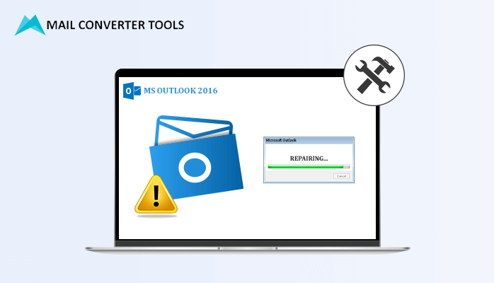 Repairing OST file Outlook 2016