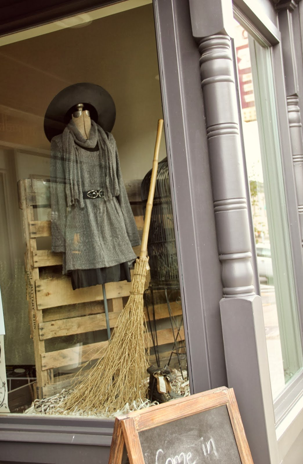 witch Halloween Retail Display Ideas