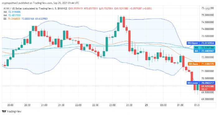 Avalanche price analysis: AVAX/USD to spike to $80 over the weekend 1