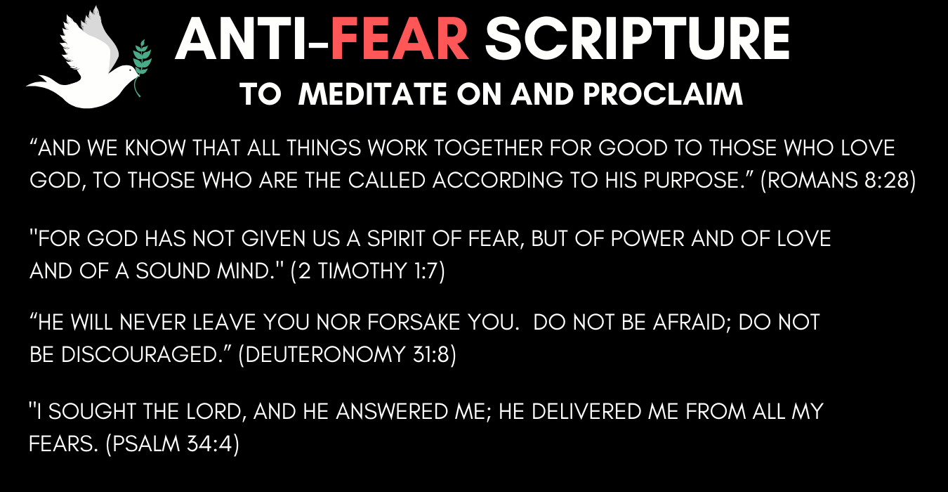 anti-fear scripture