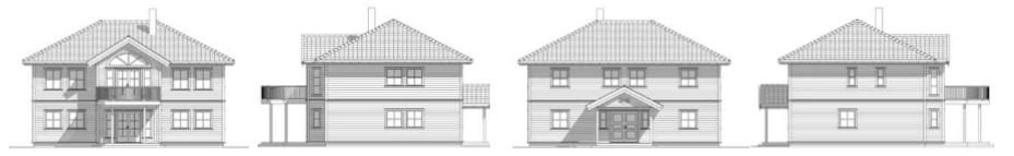 Illustrert hus, arkitekttegnet hus, beste arkitekt i Haugesund