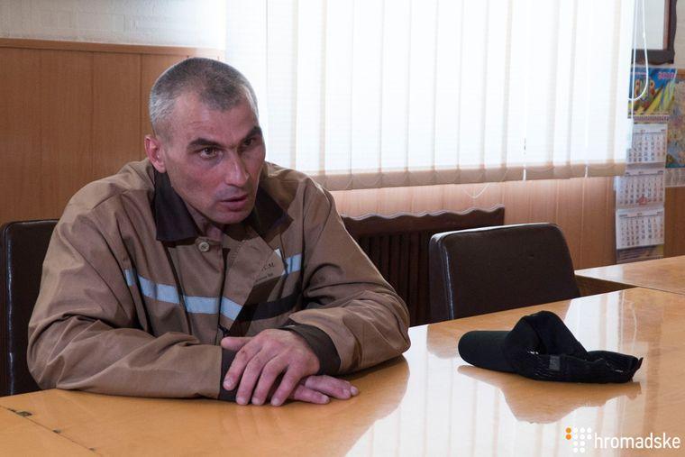 Украинский политзаключенный Сергей Литвинов в Диканевской колонии №12, Харьков, 27 июня 2019