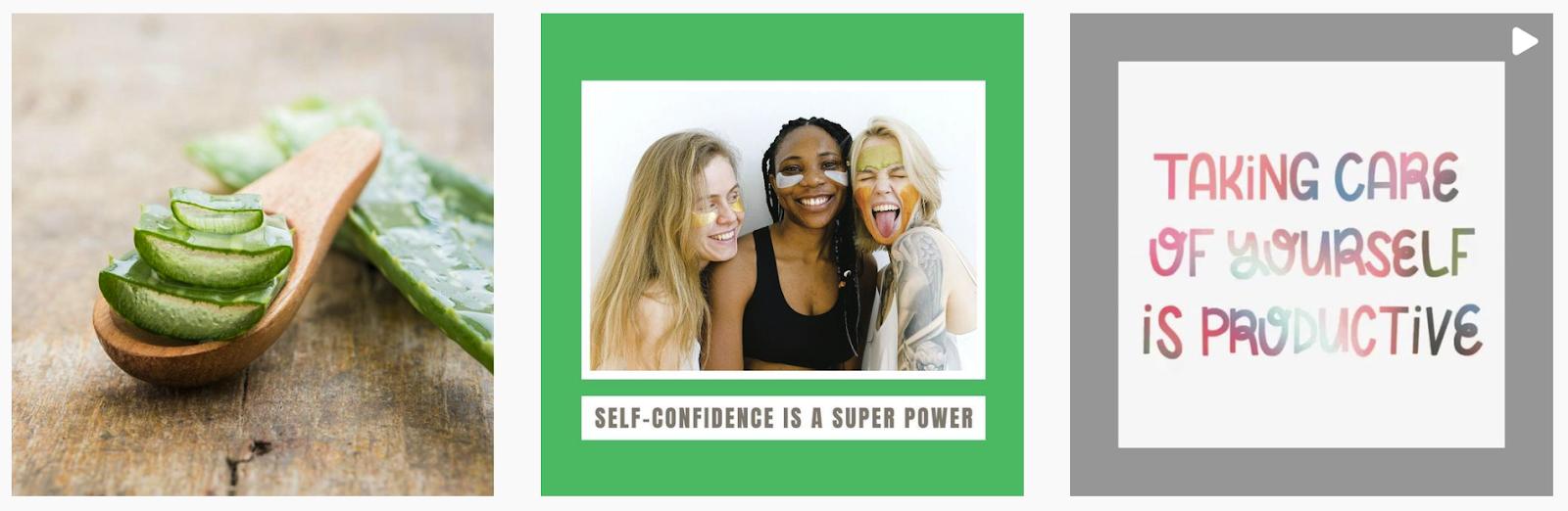 Kay CBD Skincare   Instagram Posts   Skincare Brands Featured on Afluencer