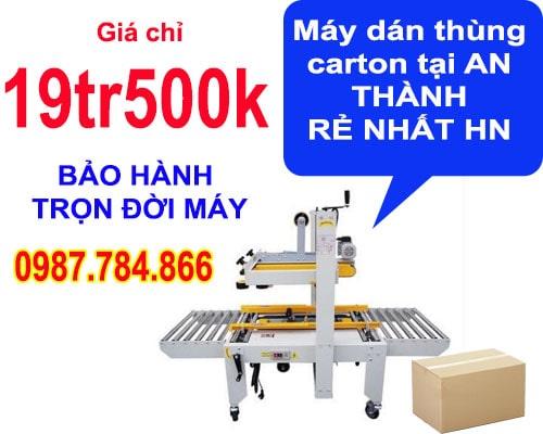 máy dán thùng carton tại an thành rẻ nhất