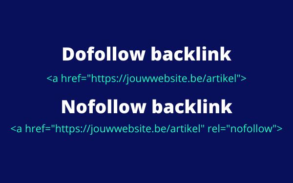 2 soorten backlinks