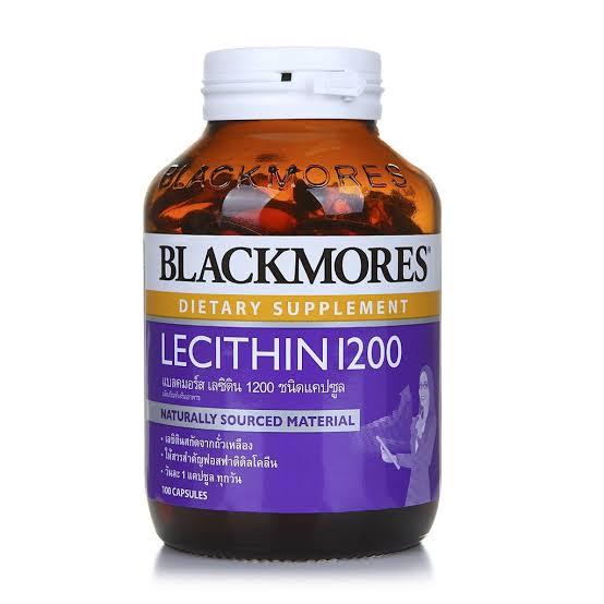 2. อาหารเสริมบำรุงสมอง Blackmores Dietary Supplement Lecithin 1200