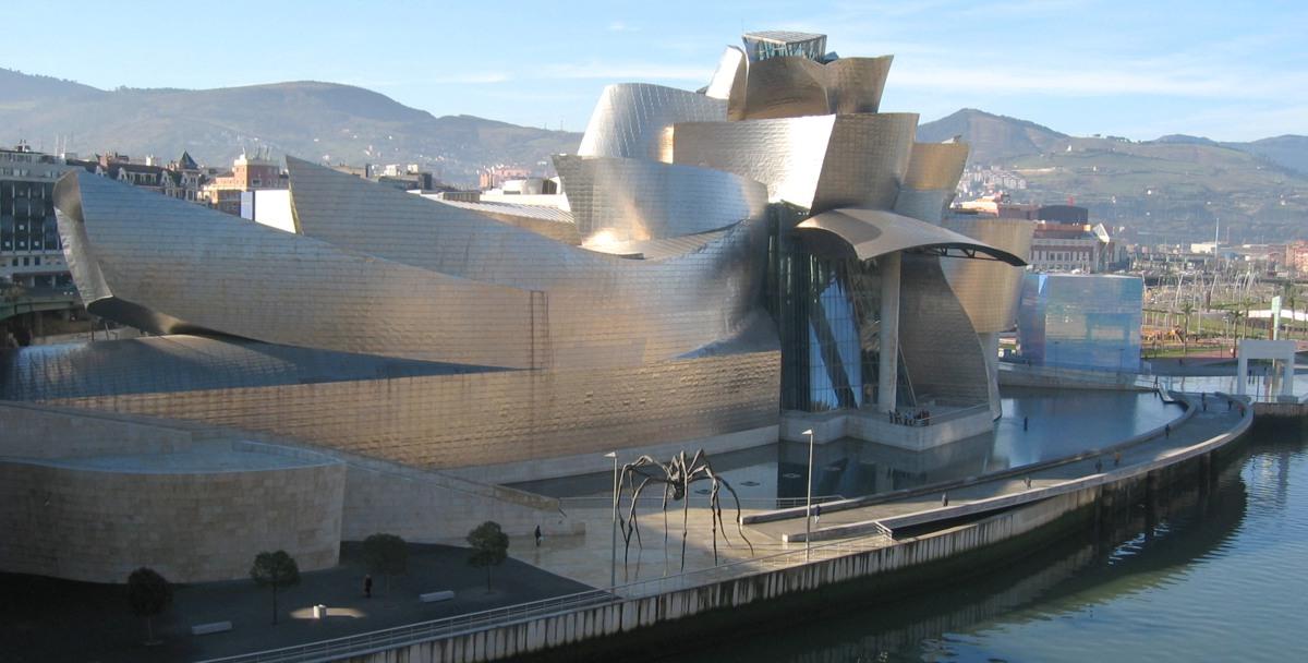 The Guggenheim Museum Bilbao,