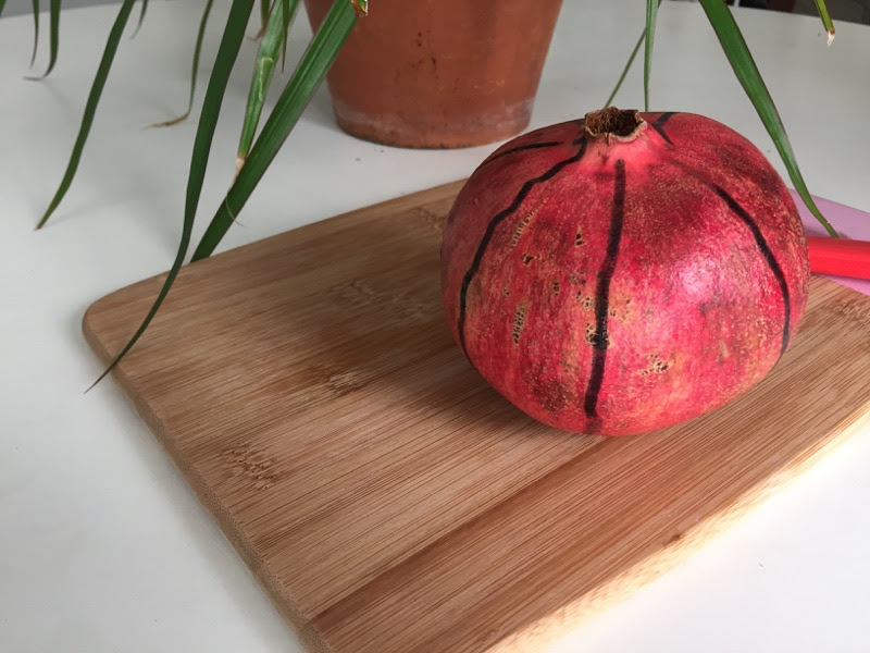 Best way to cut open a pomegranate