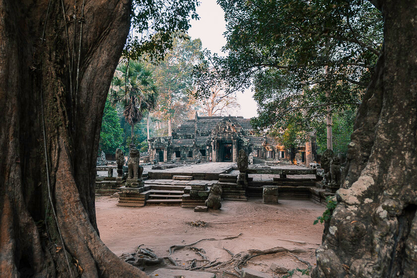 Banteay Kdei in Angkor National Park.
