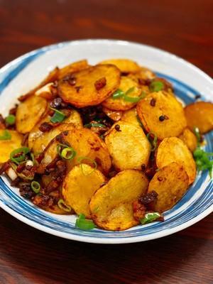 超级美味儿干锅土豆片啊的做法 步骤13