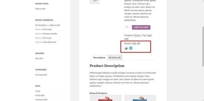Best WordPress Plugins: YITH WooCommerce brands add-on