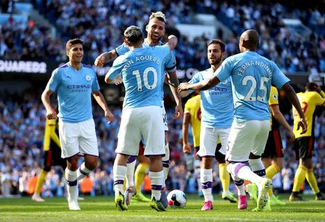 Манчестер Сити забил 5 голов за 18 минут
