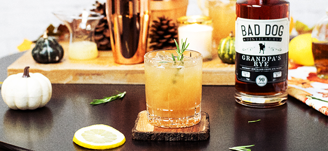 The Campfire Sour, a Perfect Fall Drink
