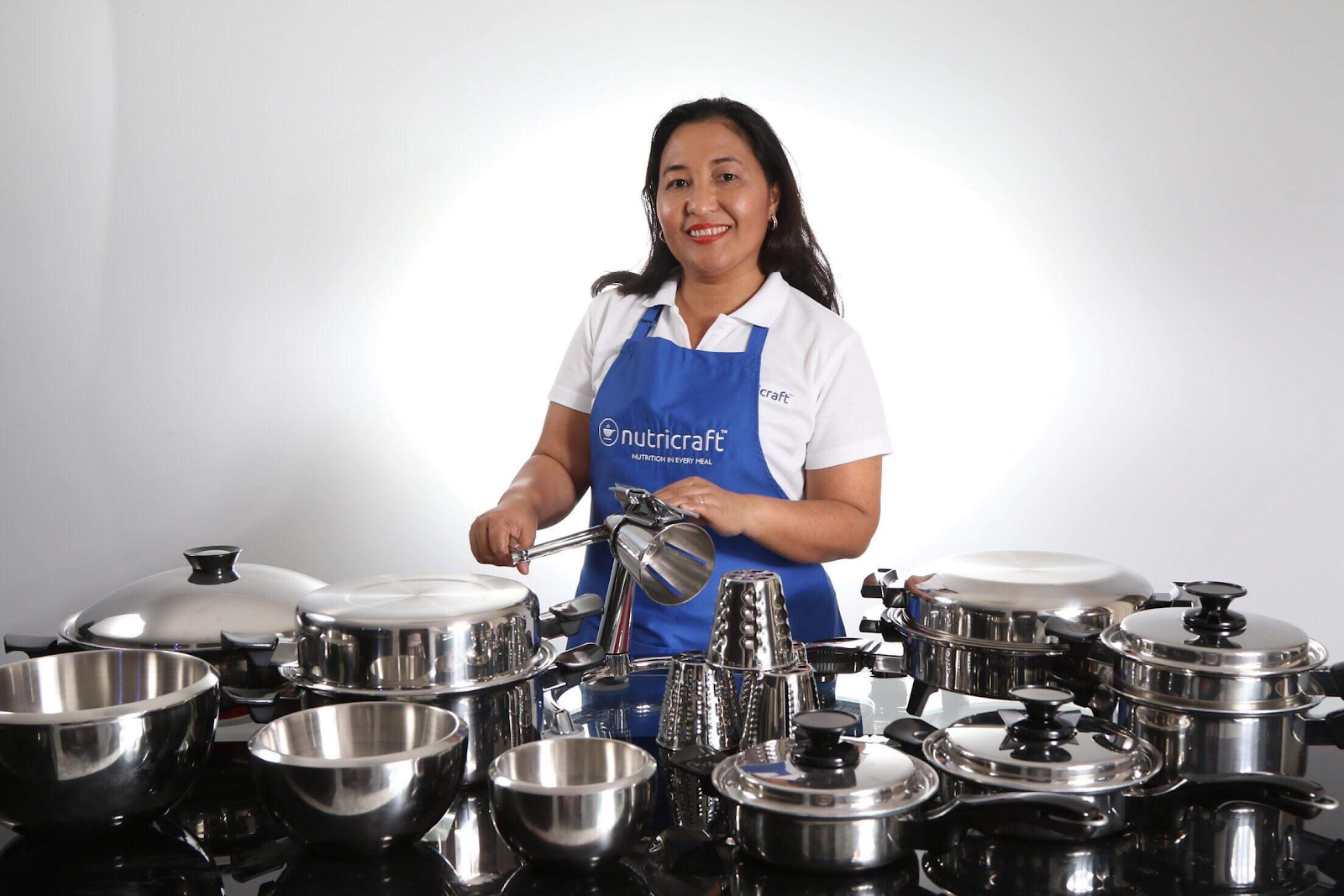Nutricraft provides safer alternatives to traditional stainless steel cookware