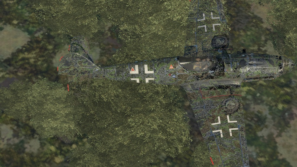 Bf 109 k4 Wunderwaffe Skin
