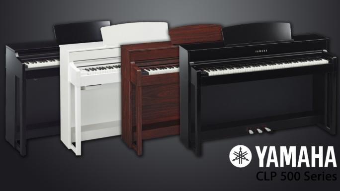 yamaha clp 535 r black walnut