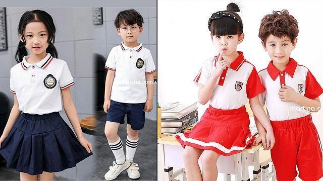 Đồng phục mầm non giúp trẻ thêm tự tin khi đến trường