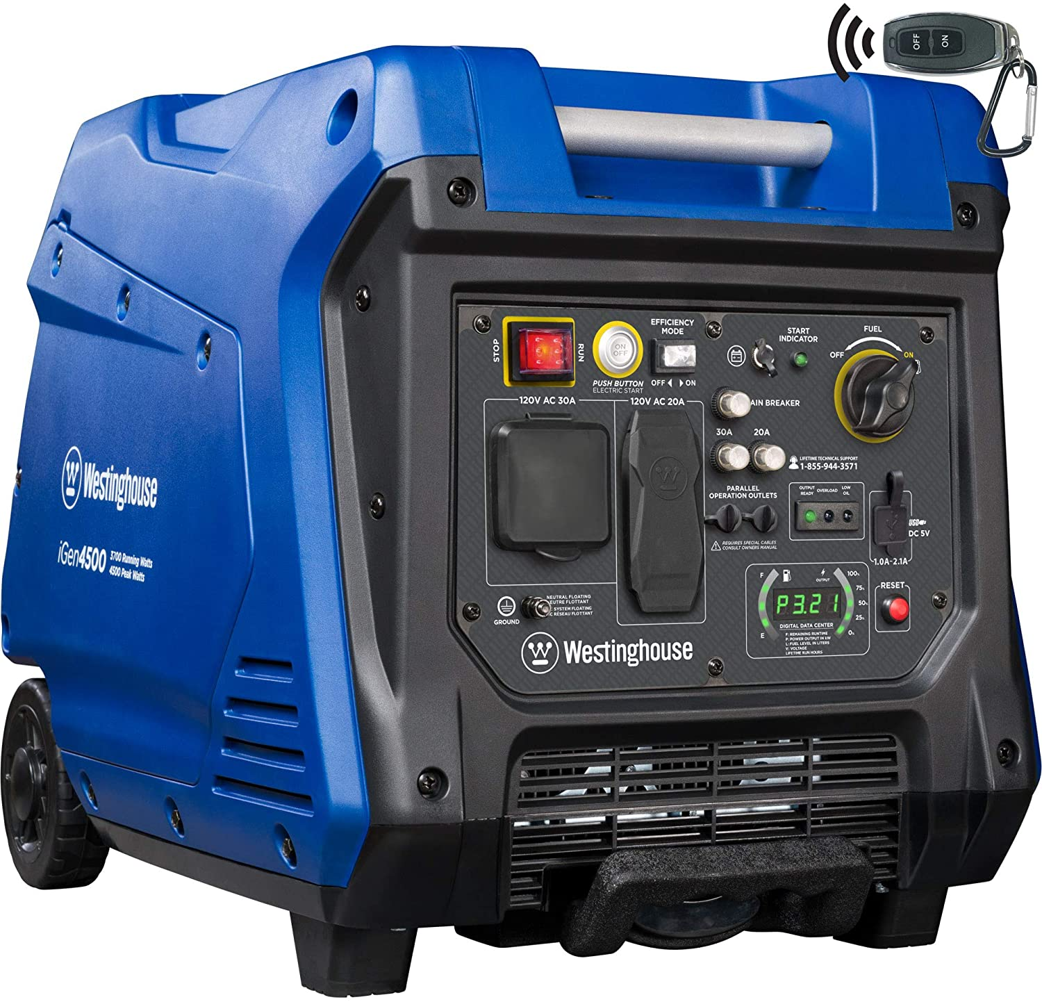 westinghouse igen4500 generator for rv camping
