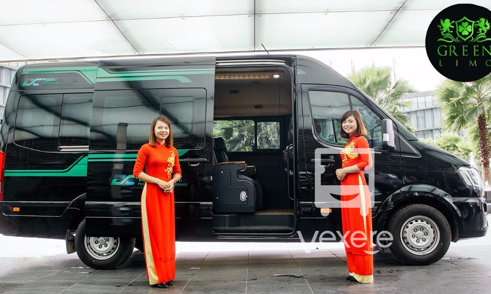 Xe limousine Hà Nội Quảng Ninh: Green Lion Bus