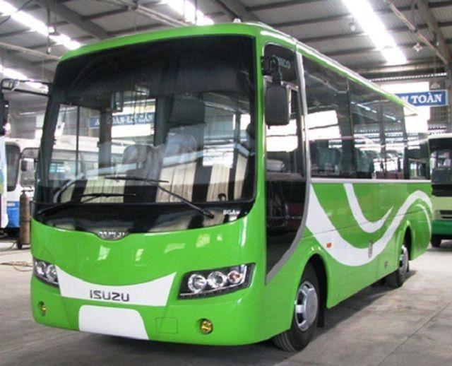 Mẫu xe 35 chỗ của Isuzu