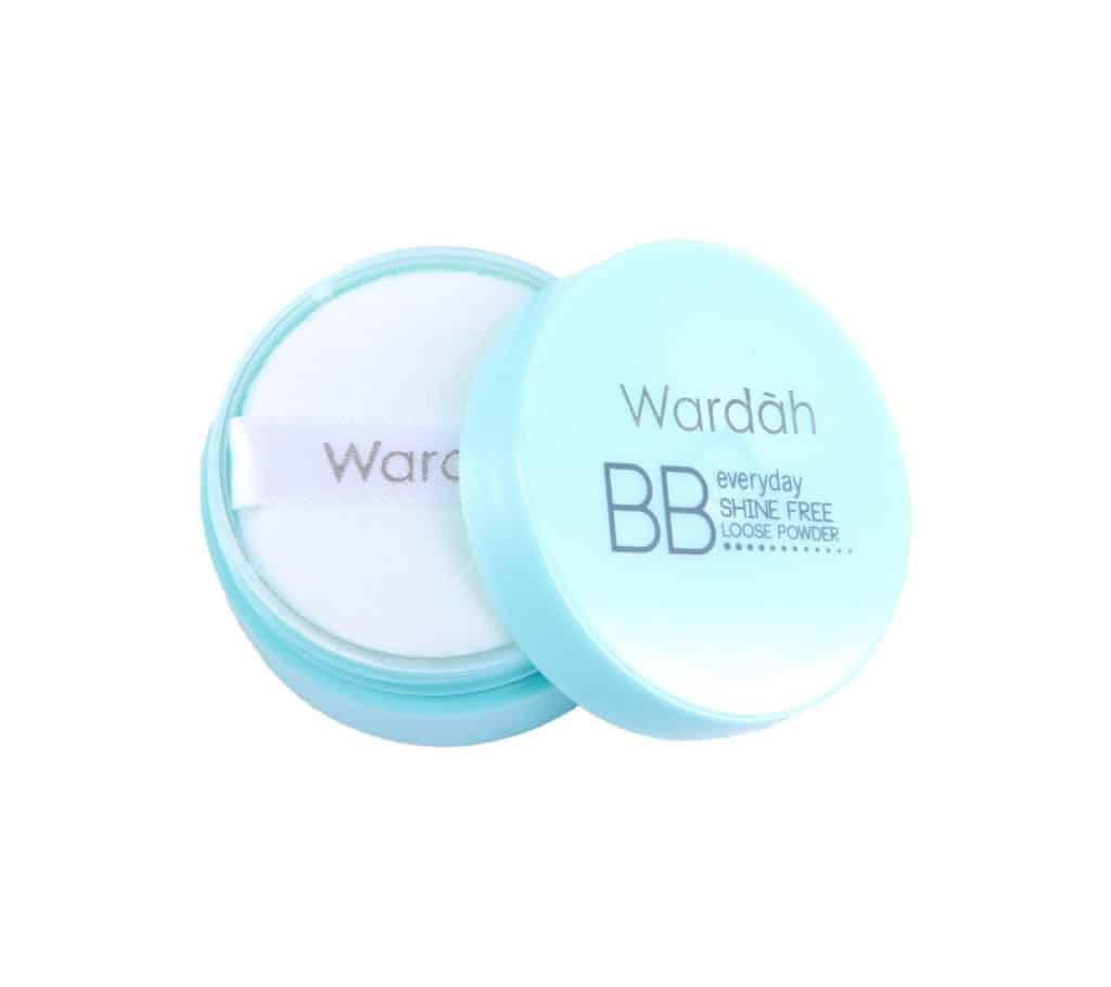 Wardah Shine Free BB Powder - Bedak Wardah Untuk Kulit Berminyak