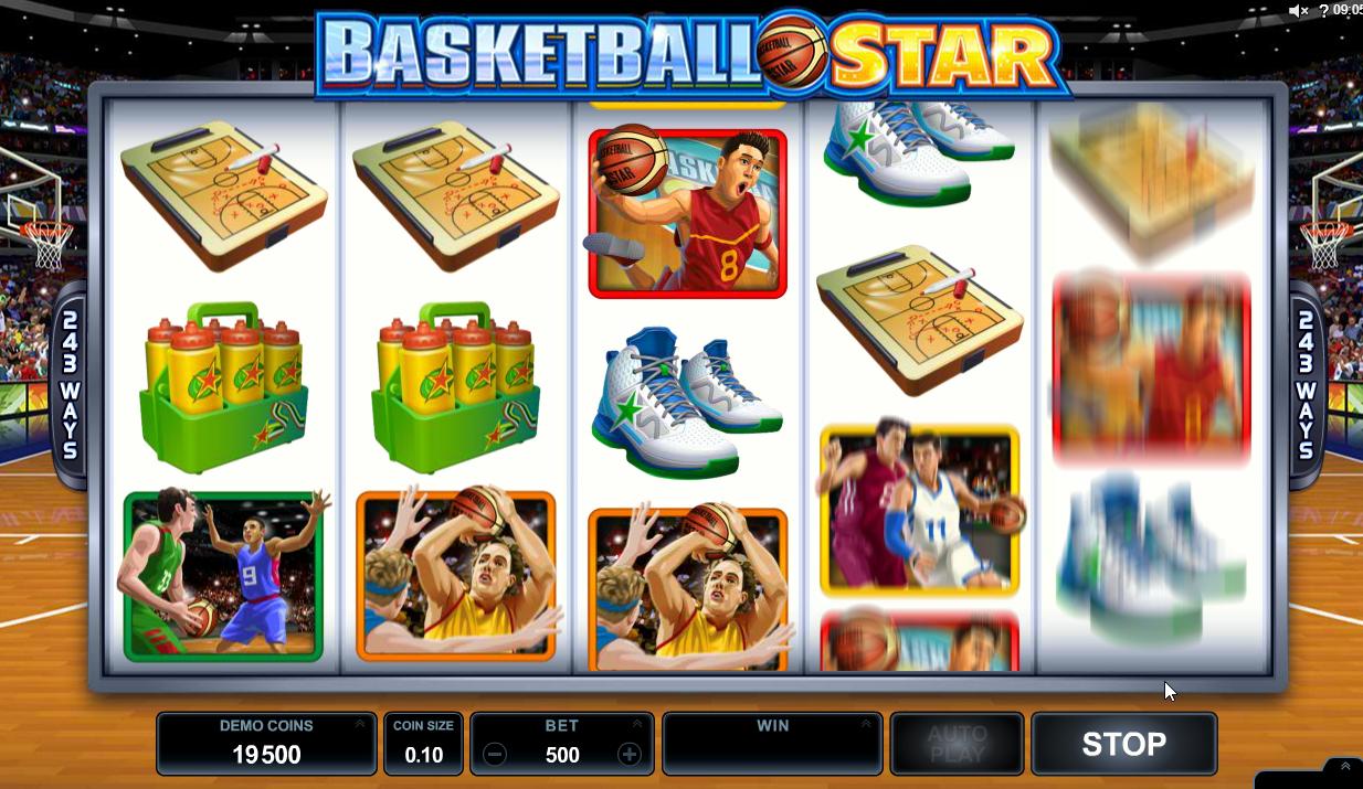 Basketball Star Slots Game