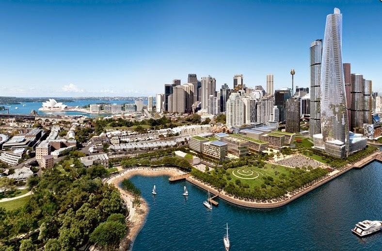 悉尼水畔之王Barangaroo