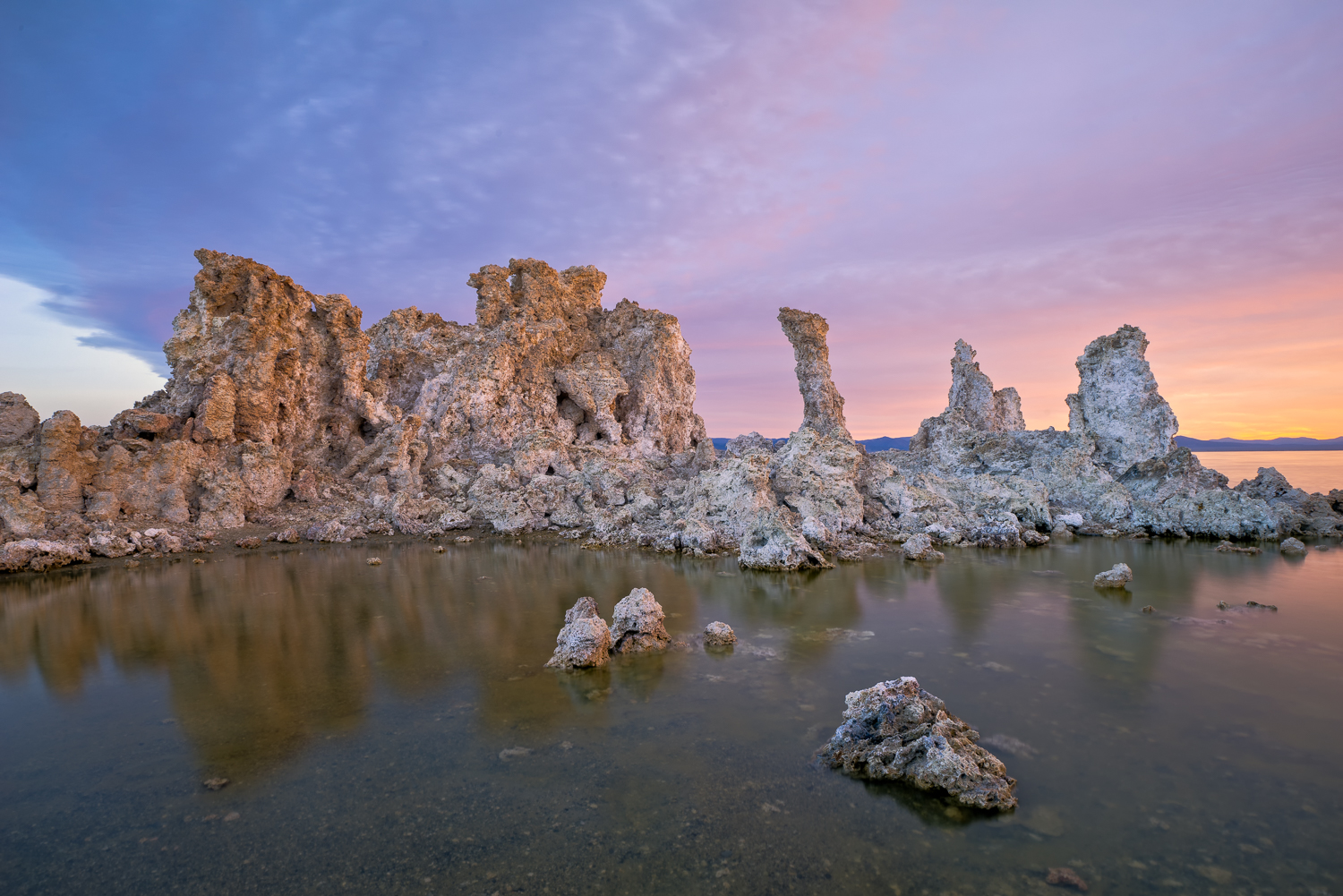 Sunrise over Mono Lake