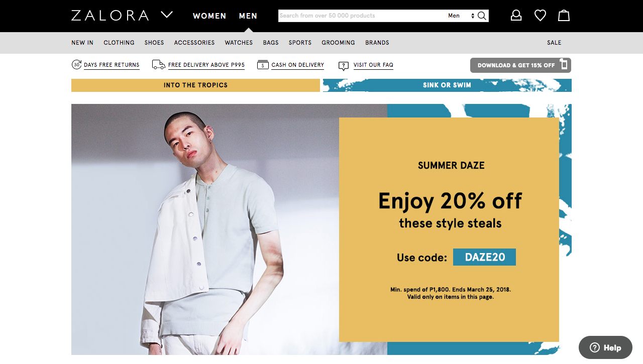 zalora ph discount coupons