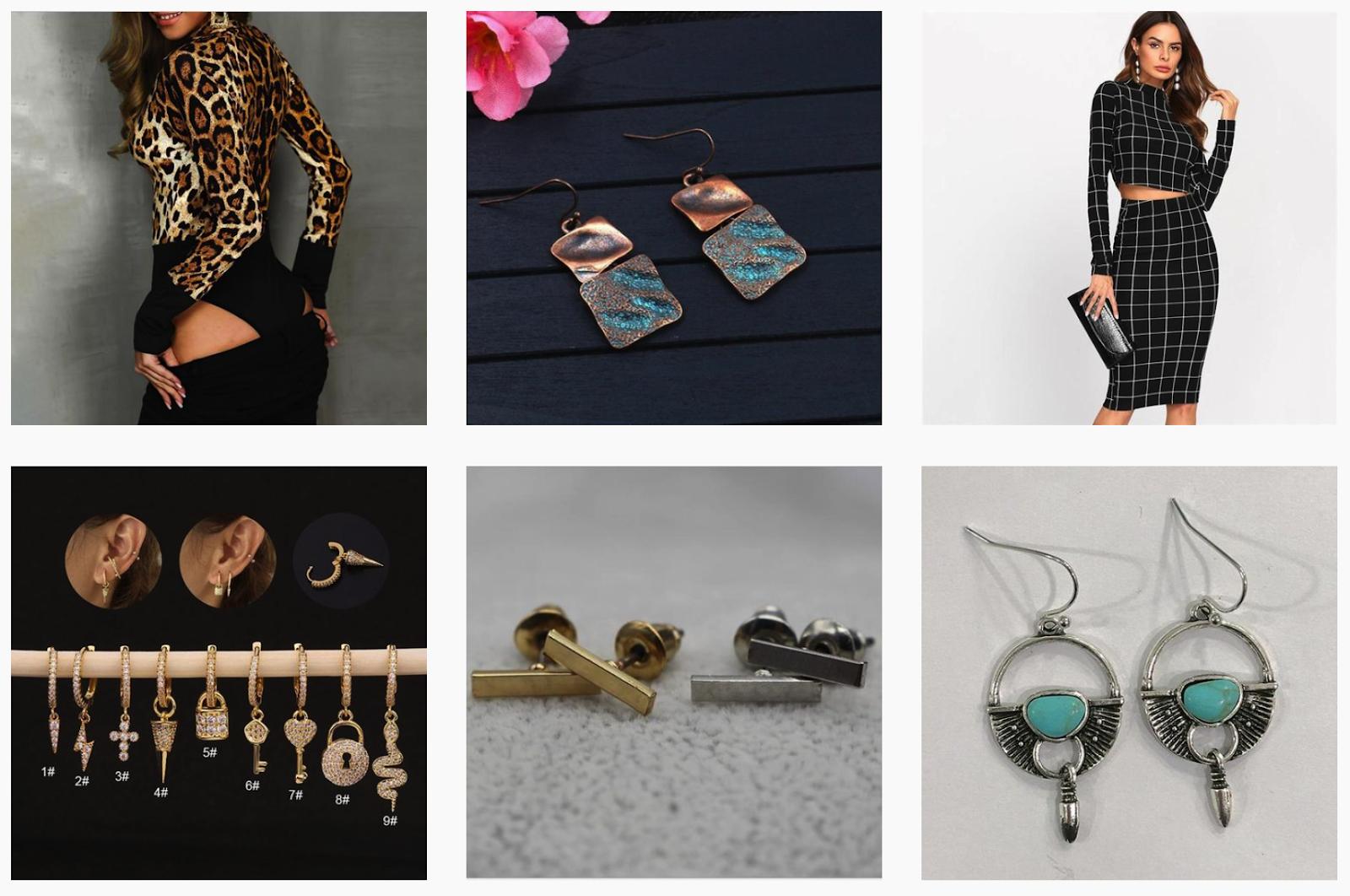 Nalora Secret | Jewelry and Clothing | Social Media Posts