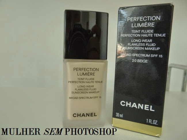 Resenha base perfection Lumiere Chanel