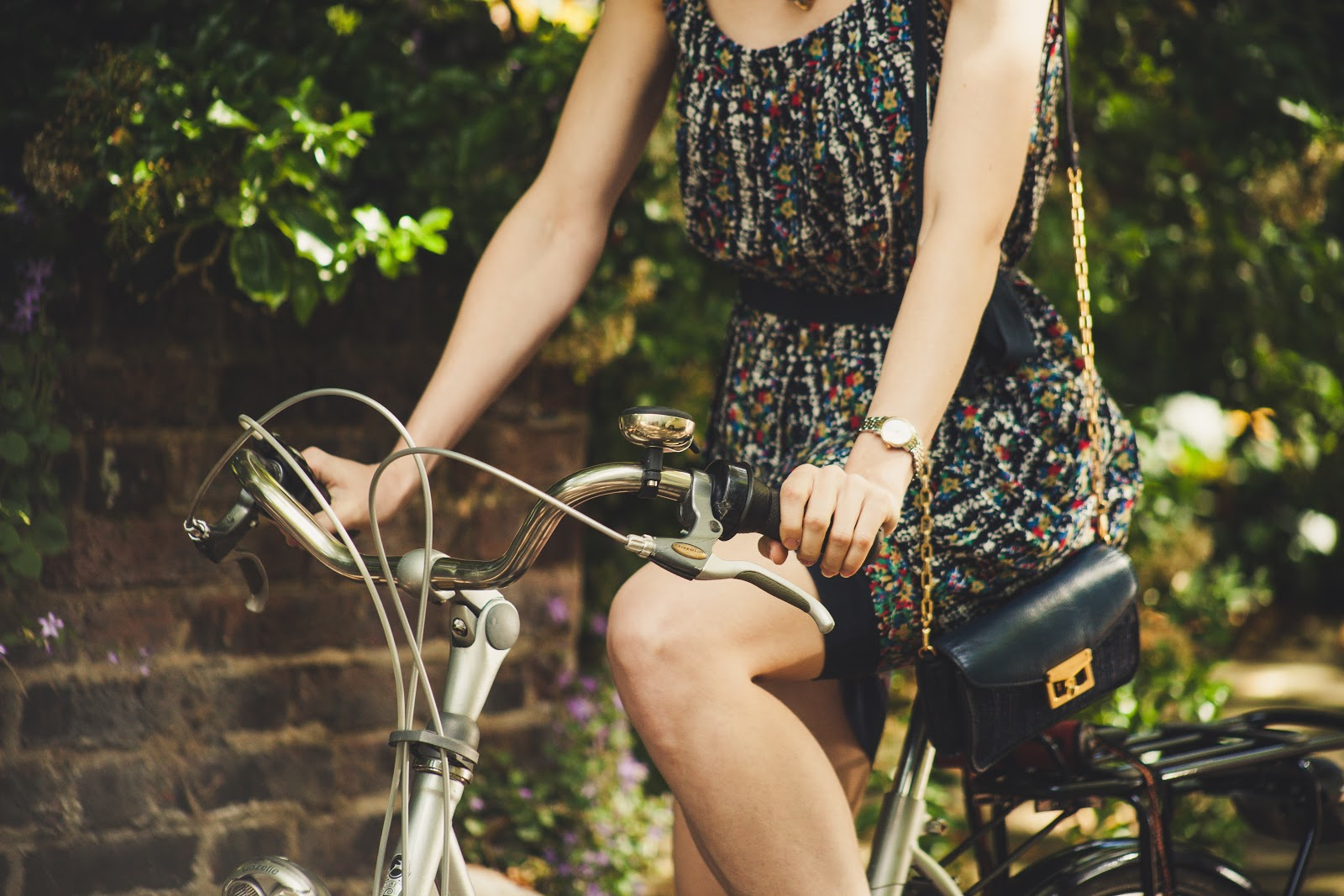 five ways to ride a bike in a dress...jk there's no way to do that