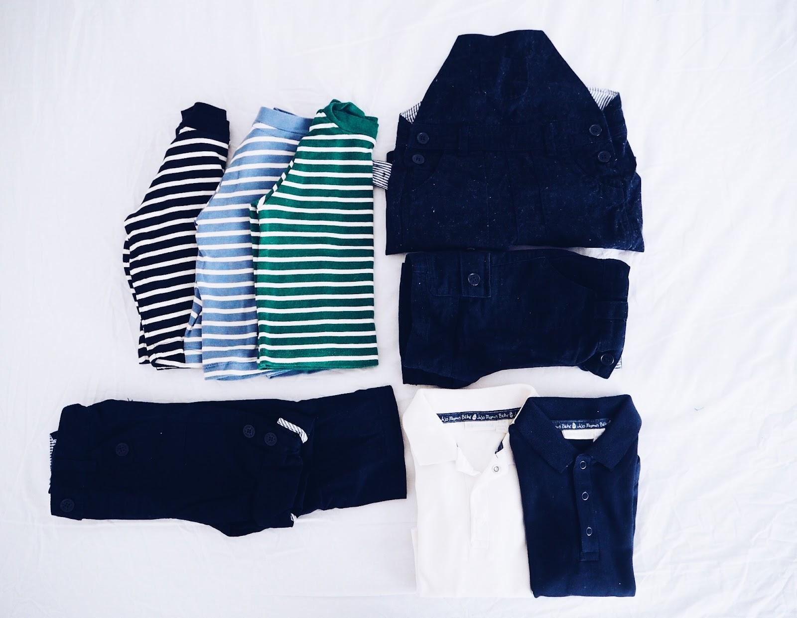 12 Summer Wardrobe Essentials for Baby jojo maman bebe