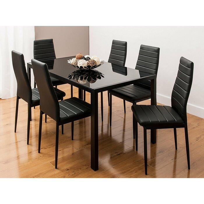 reiner modern space saving dining Table set