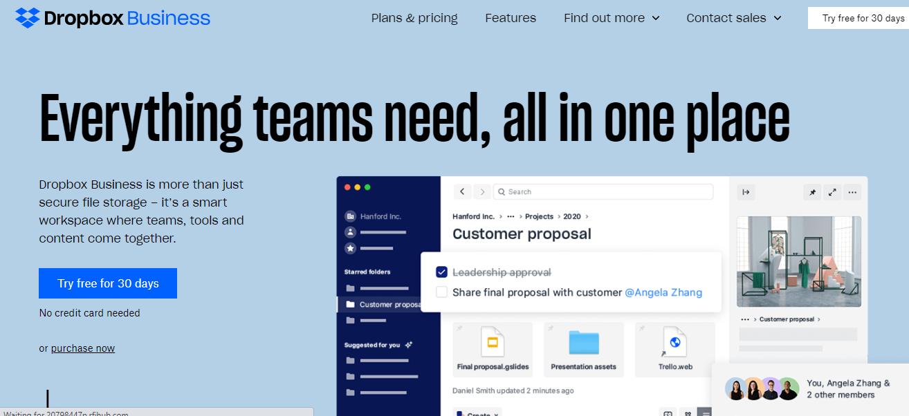 db social media collaboration tool