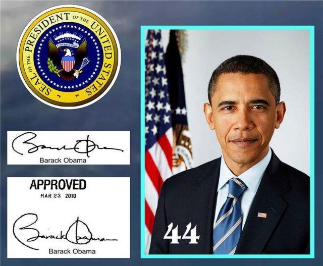TT Obama Đổi Chữ Ký