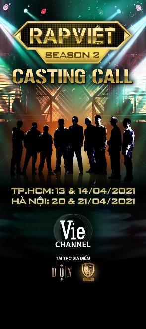 """""""Thời gian, địa điểm rõ ràng"""" Rap Việt chính thức trở lại mùa 2"""