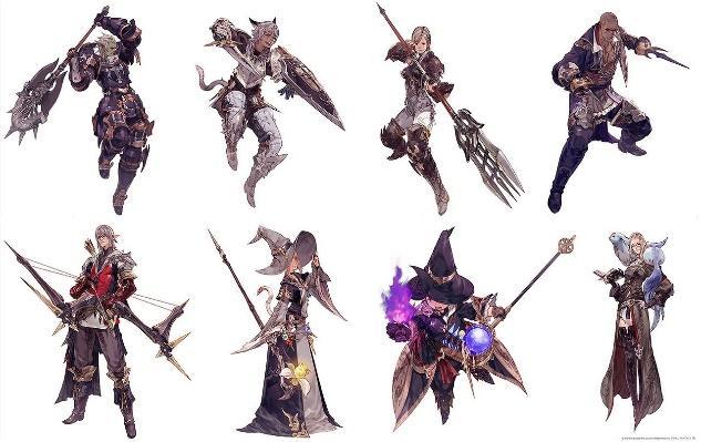 Image result for Final Fantasy XIV jobs