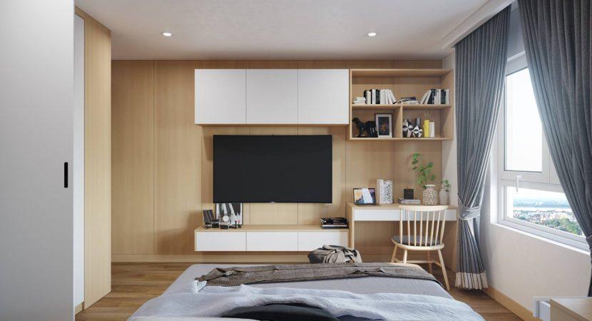 Đệm nhỏ tối ưu không gian phòng ngủ nhỏ