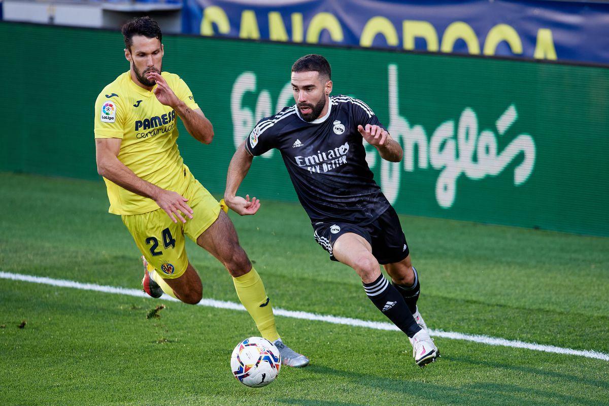 Real Madrid và Villarreal đã hòa nhau 1-1 ở trận lượt đi