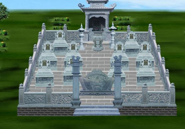 Tránh xây dựng mộ ở những nơi có các mộ xung quanh lấn chiếm