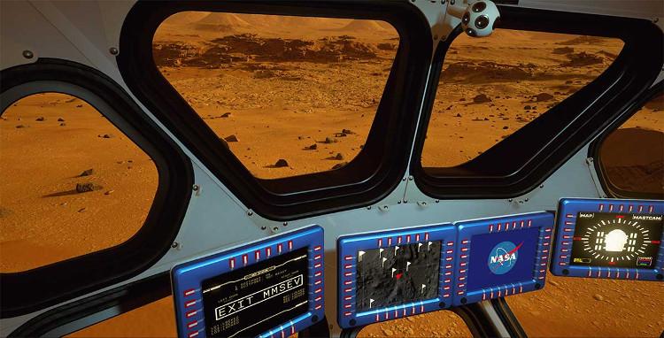 """Nhiệm vụ mà """"Mars 2030"""" đặt ra cho người chơi là phải khám phá hành tinh và thu về những mẫu vật."""
