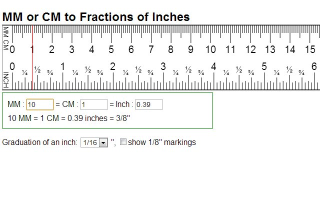Cm mm to inch conversion convert centimeters to fractions of inches images frompo - Cm breedte van de basis tabel ...