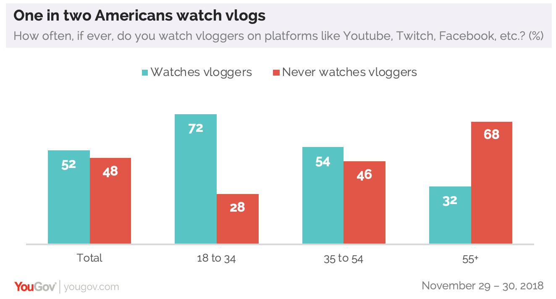 vlog demographics