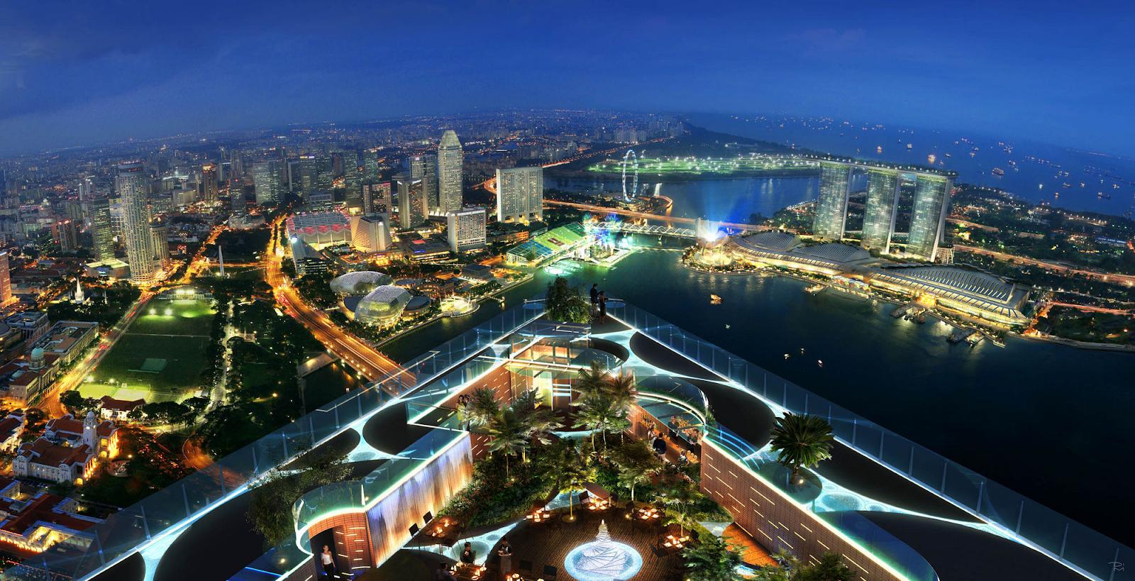 one raffles place building singapore flyspaces