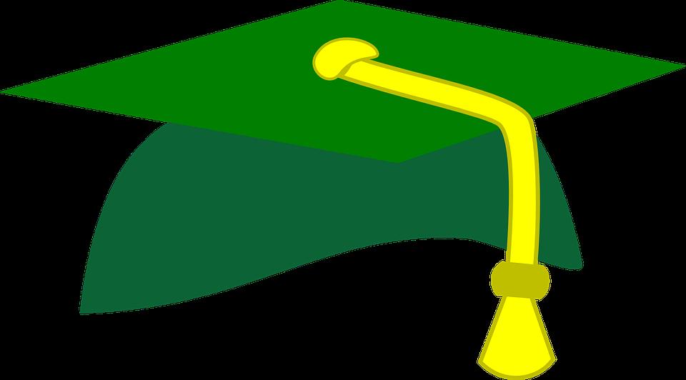 Free vector graphic: Graduation Cap, Grad, Cap, Student - Free ...