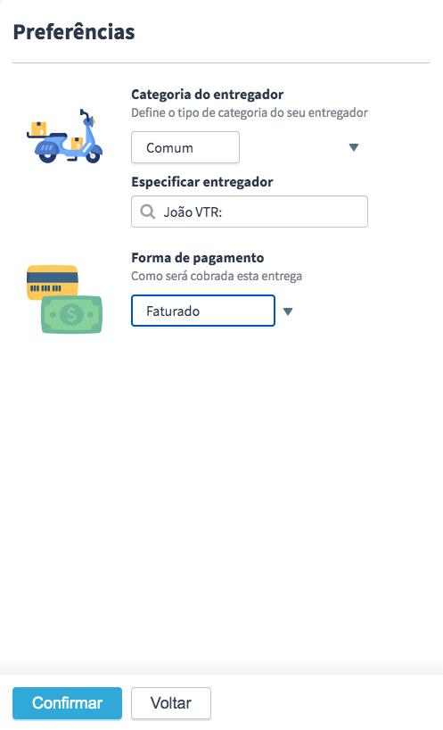Plataforma de entregas da Machine