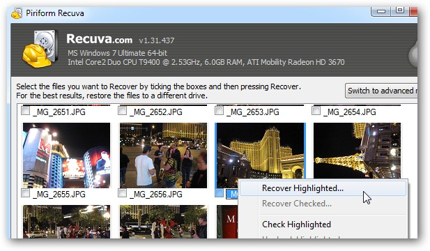 Recovery Software Download Recuva
